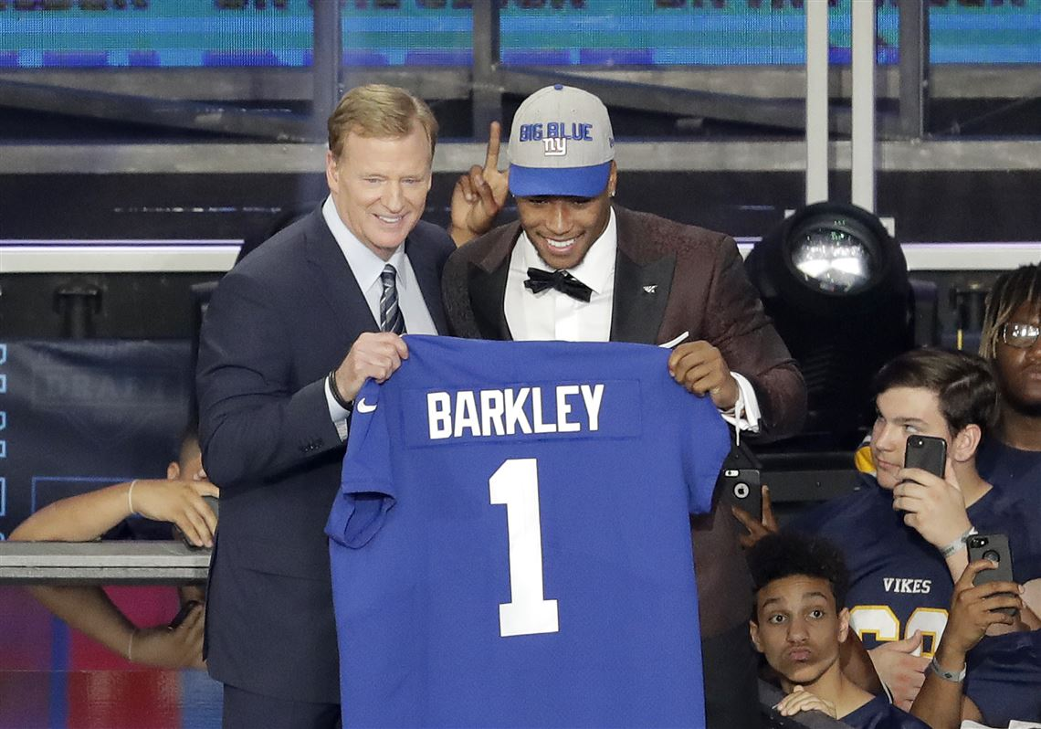 Saquon Barkley drafted No. 2 overall by New York Giants  c8fcfefc4
