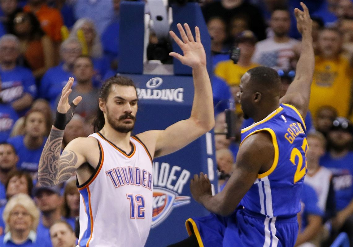 huge discount 6a539 9430b NBA fans shocked as Steven Adams brings back clean-shaven ...