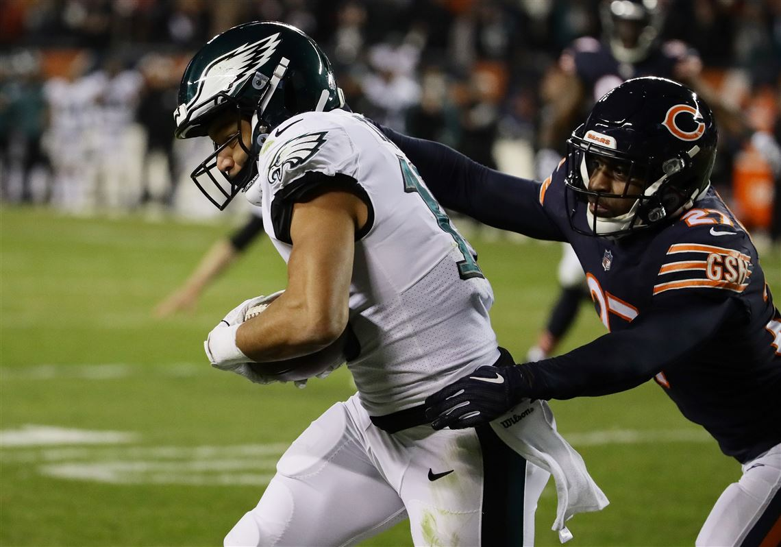 Eagles Score Late Escape With Upset Win Against Bears In Wild Card