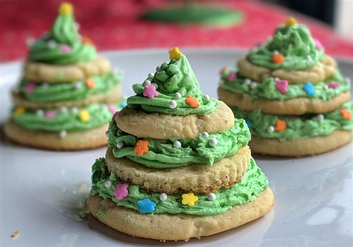 Let S Eat Christmas Tree Cookie Stacks Pittsburgh Post Gazette