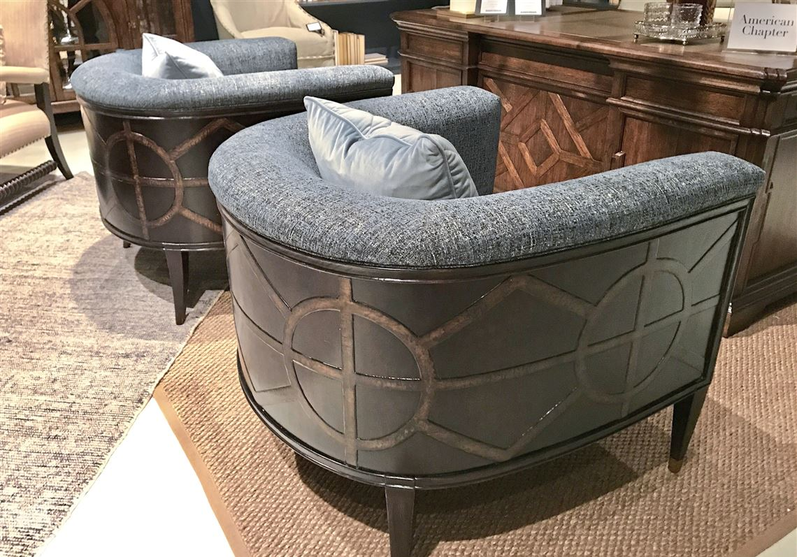 Surprising The Barrel Back Chair Is Rolling In Style Pittsburgh Post Uwap Interior Chair Design Uwaporg