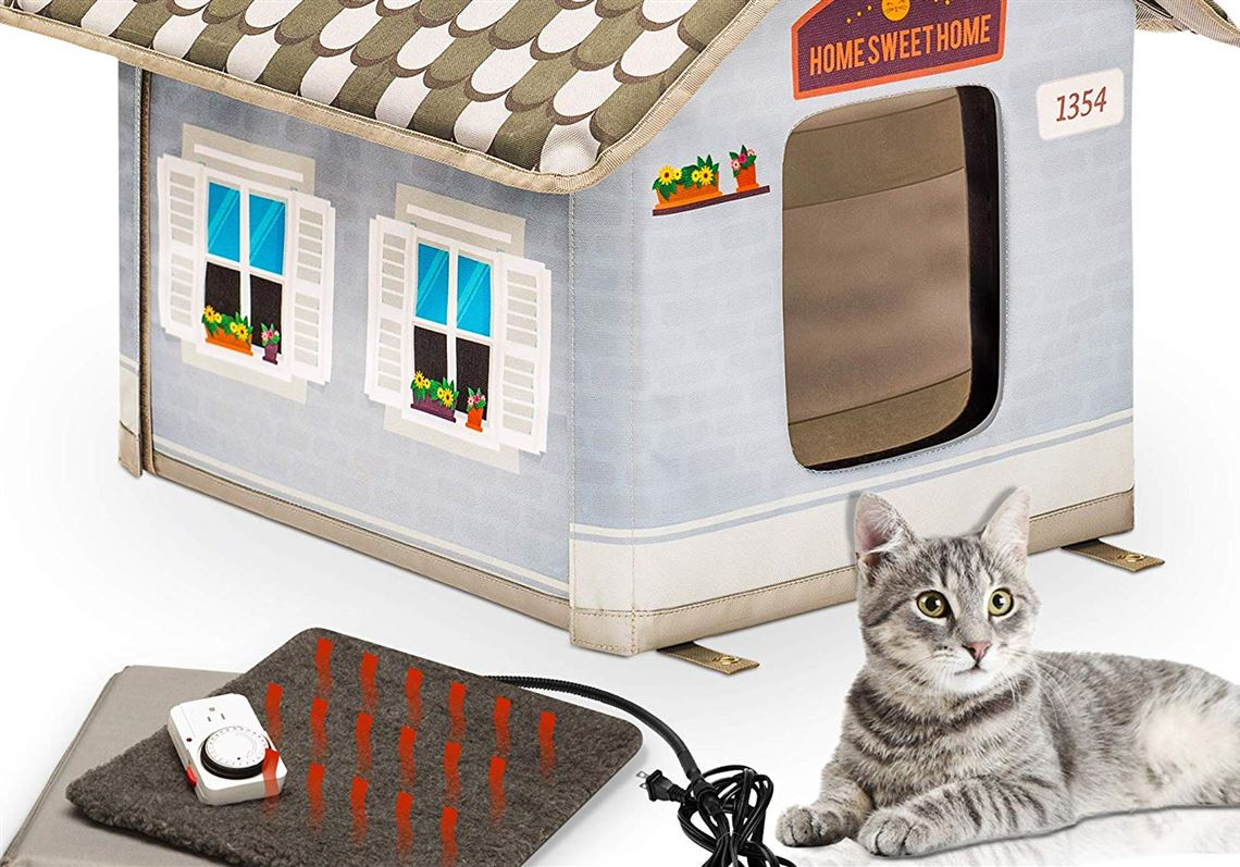 Build Or Buy A Shelter To Protect Outdoor Cats From Freezing Temperatures Pittsburgh Post Gazette