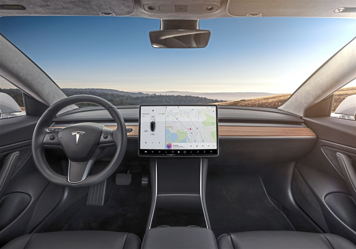 The 2018 Tesla Model 3 Looks Quite Unlike Other Cars Inside But Is All