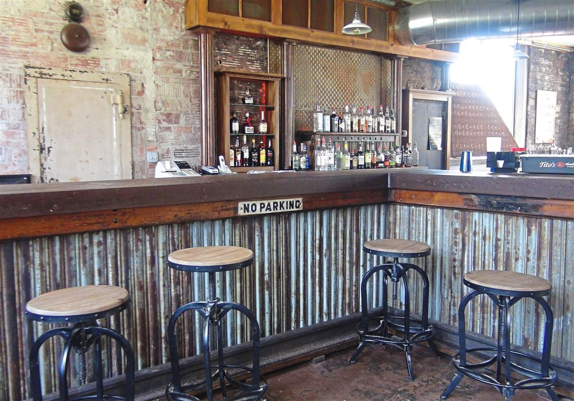 Attrayant The Bar Inside Duende At Silo City Was Made From Materials Salvaged From  The 1940s Office