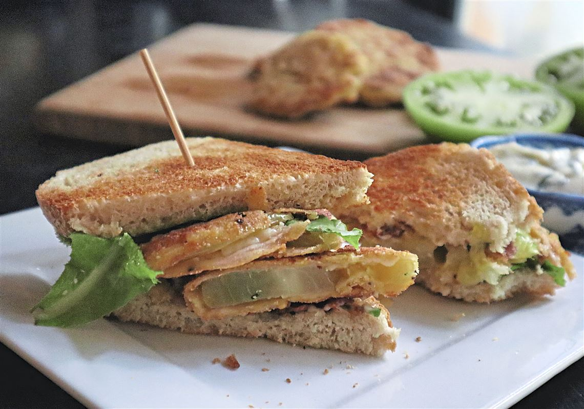 Gretchen's table: Fried Green Tomato BLT