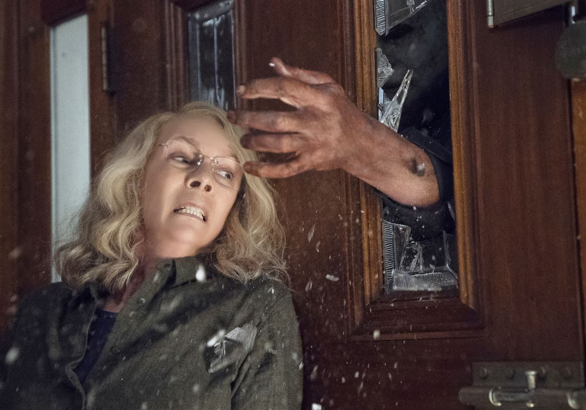 it takes a granny (jamie lee curtis) to get tough on michael myers