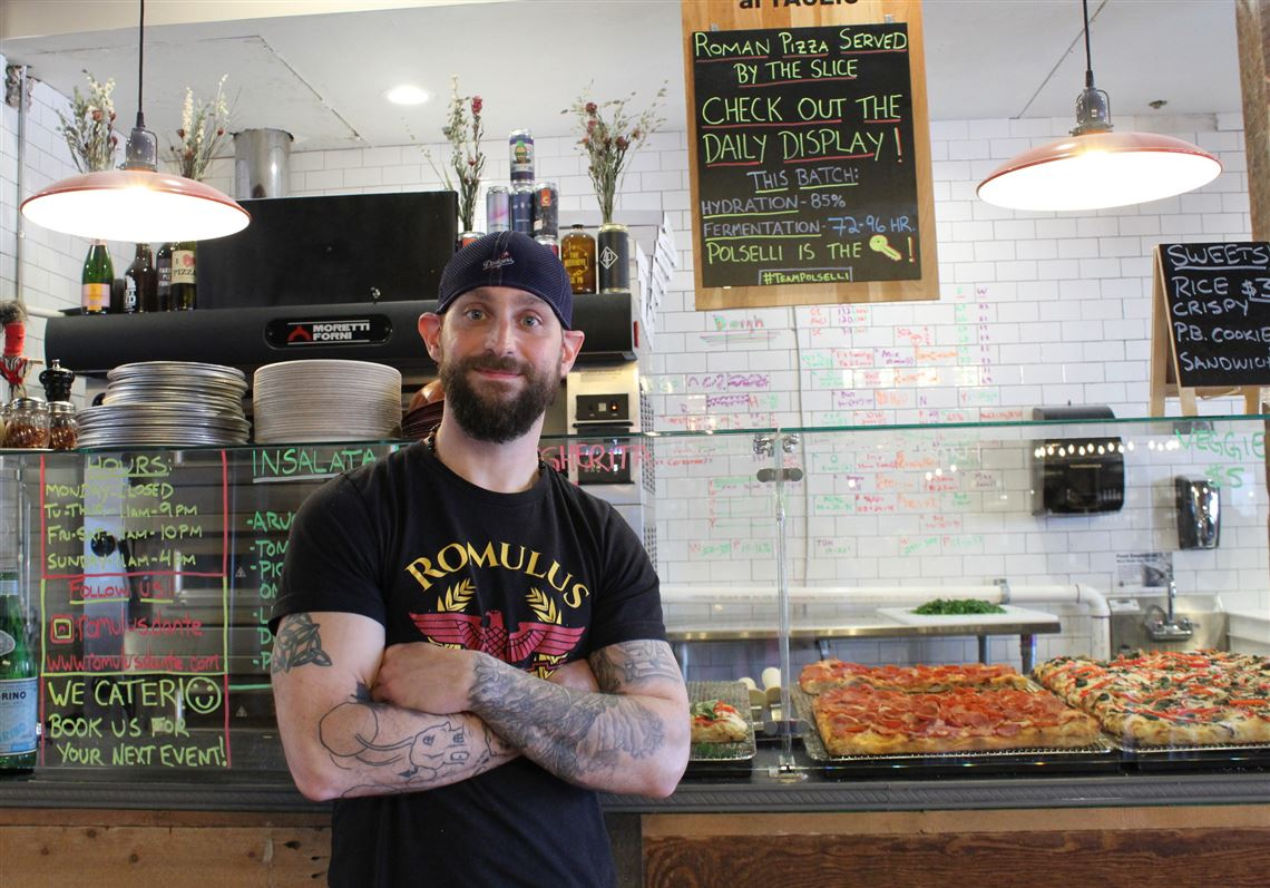 Romulus Pizza al Taglio in the Strip is closing — for now
