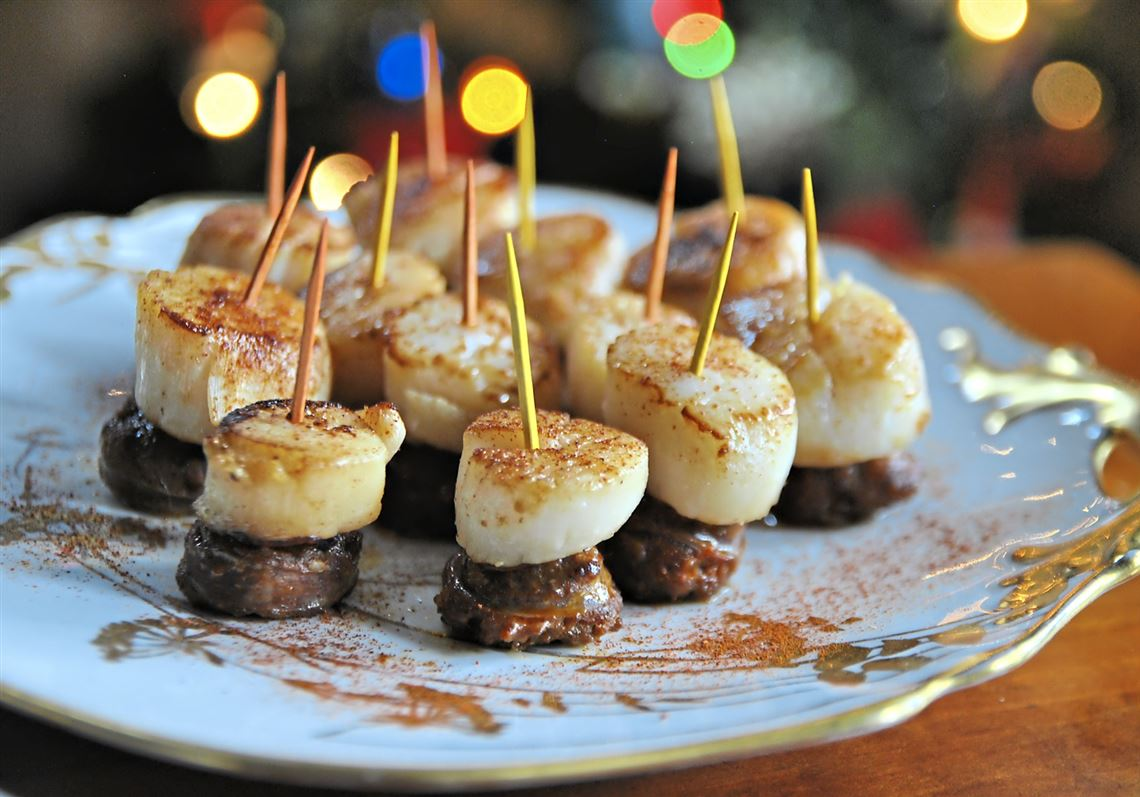 Fuss-free, fabulous finger foods for your New Year's Eve bash