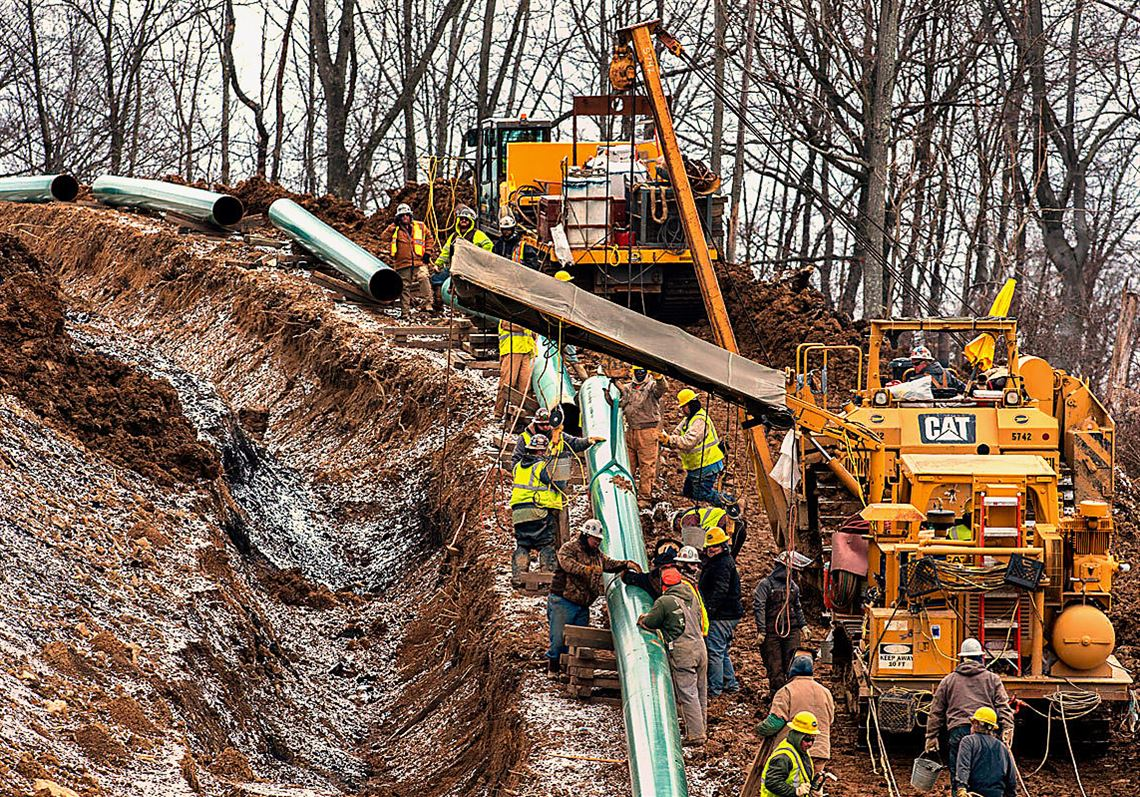 Pennsylvania shuts down construction on Sunoco gas pipeline