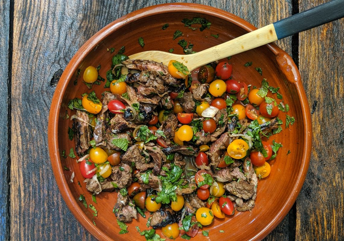 Let's eat: Don't put fries on this Thai beef salad!