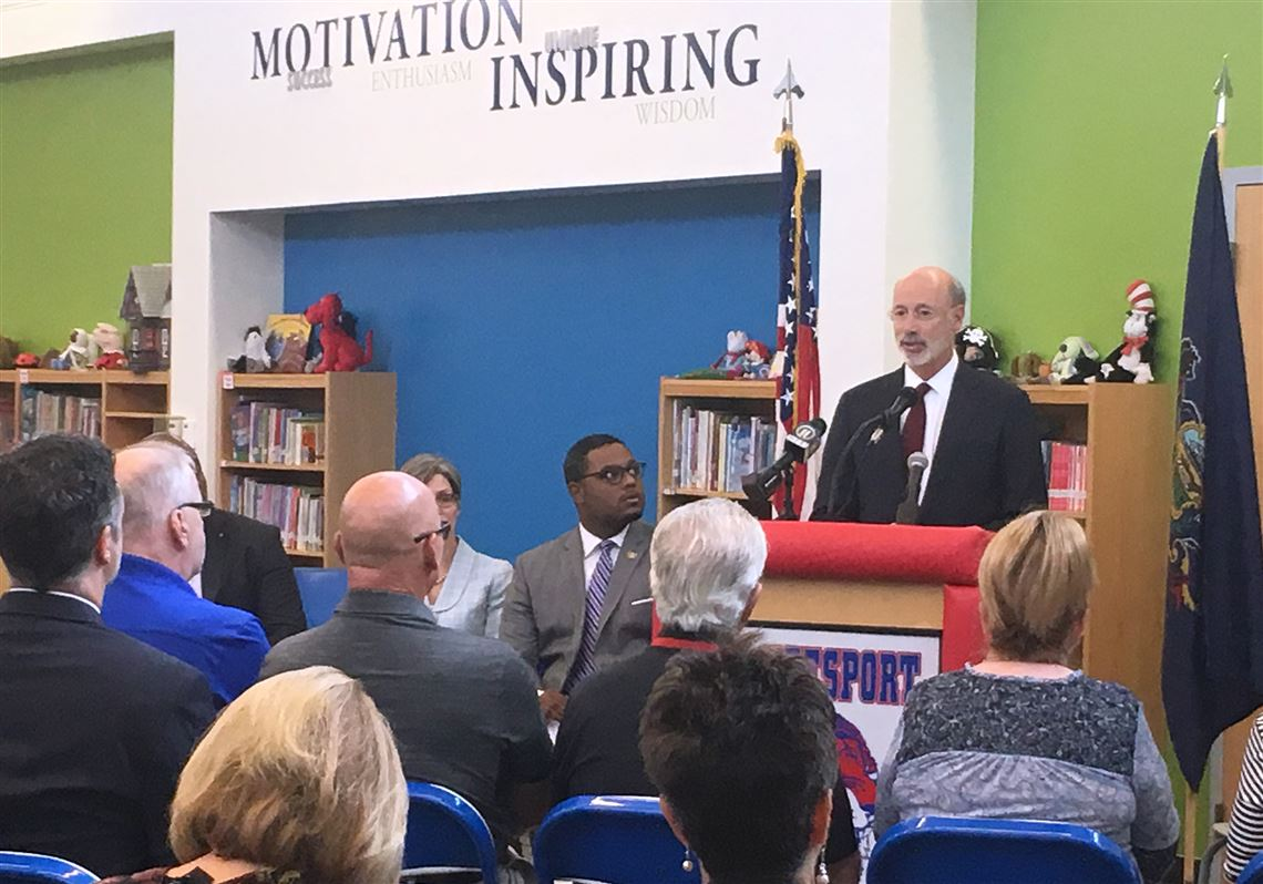 Gov  Wolf announces fees for Pennsylvania Department of