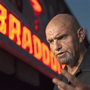 Mayor of Braddock John Fetterman