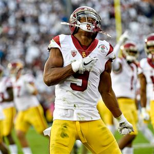00cdb4fc040 Wide receiver JuJu Smith-Schuster went to the Steelers in the second round  of the