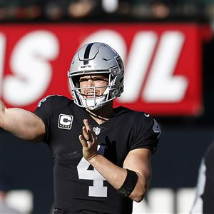 9eaf45cc6 Derek Carr and the Oakland Raiders will be the next big test for the  Steelers