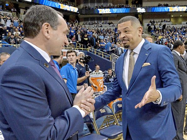 8f6a4216f6a Jeff Capel's lasting bond with Duke makes for 'weird' night on both sides |  Pittsburgh Post-Gazette
