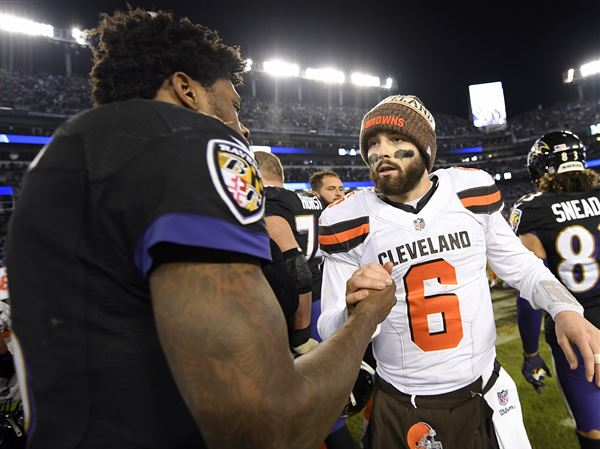 low priced ba9ee 465bd Joe Starkey: The AFC North has exploded, but the Browns can ...