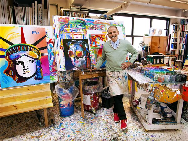 For 60s Icon Peter Max Art Is Still A Labor Of Love Pittsburgh