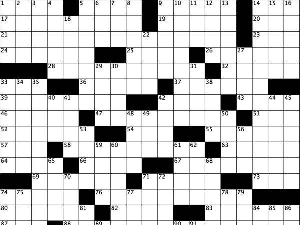 The Washington Post Crossword Answers – Apr 14 2019 ...
