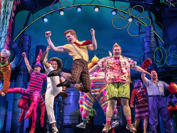 SpongeBob Musical,' 'Once on This Island' top Pittsburgh