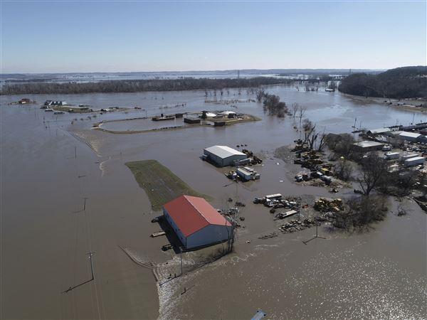 NOAA forecasters say the Midwest's flooding could preview an unprecedented spring