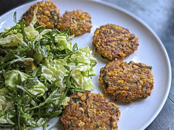 Let's Eat: Crispy shrimp fritters make it easy to be meat-free during Lent