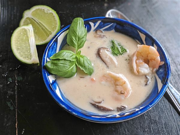 Let's Eat: Tom Kha soup with shrimp does the body good