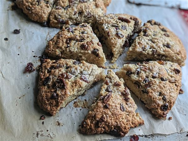 These easy-to-make scones make a great snack for those on the go